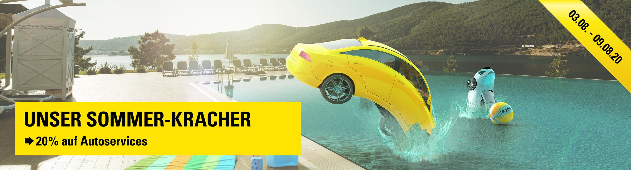 20% Rabatt auf Autoservices